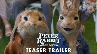 Download ″Peter Rabbit: Coelho à Solta″ - Teaser Trailer Dobrado (Sony Pictures Portugal) Video