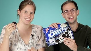 Download Americans Try Japanese Oreos Video