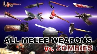 Download Dead Trigger 2 All Melee Weapons Mk10 vs. Zombies HD Video