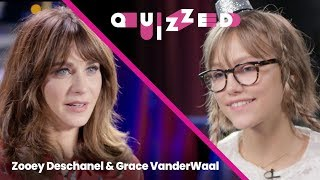 Download Grace VanderWaal Gets QUIZZED by Zooey Deschanel on 'New Girl' | Quizzed Video