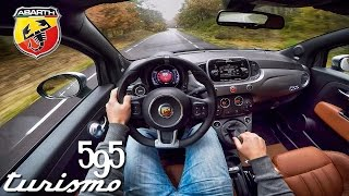 Download Abarth 595 POV Test Drive Interior & Exhaust Sound Video