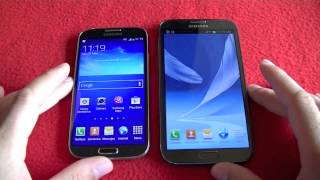 Download Samsung Galaxy Note 2 vs Galaxy S4, comparativa (en español) Video