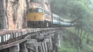 Download Thamkrasae bridge railway in Thailand part-5 泰麺鉄道5 Video