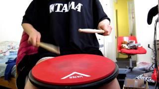 Download Solo No.1 (Charley Wilcoxon - All-American Drummer 150 Rudimental Solos) Video