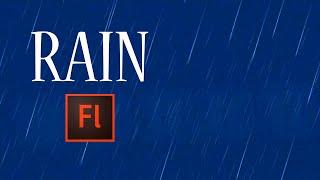 Download Flash Animation Tutorial - Animate Rain in Flash Video
