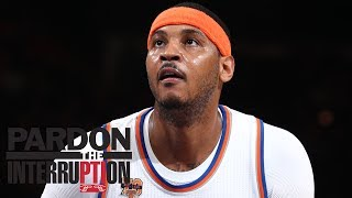 Download Why Would Carmelo Anthony Want To Stay With Knicks? | Pardon The Interruption | ESPN Video