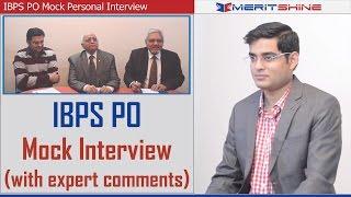 Download Bank Interview Preparation - IBPS Interview Mock 1 Video