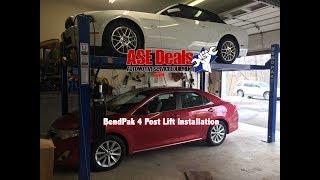 Download BendPak Four Post Lift Installation Video