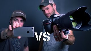 Download iPhone Vs $5000 CAMERA CHALLENGE Video