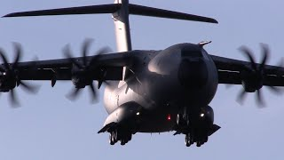 Download RAF Airbus A400M Atlas at Brize Norton Video