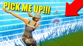 Download I TRAPPED MY TEAMMATE IN THE STORM! *INSTANT KARMA!* | Fortnite Battle Royale Video