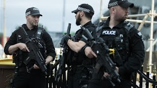 Download These are the weapons armed police carry on patrol Video