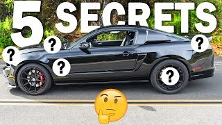 Download 5 THINGS YOU DIDN'T KNOW About The GT500 SUPER SNAKE! Video