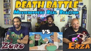 Download Zoro VS Erza....DEATH BATTLE....Moviehoppers Real Reaction Video