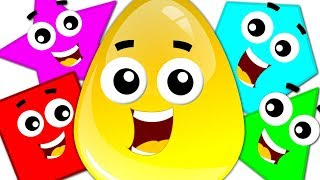 Download Learn Colors & Shapes with Crazy Eggs | Preschool Learning Videos for Children Video