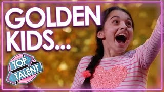 Download TOP Kids Golden Buzzers From Got Talent Worldwide! | Darci Lynne, Beau Dermott & MORE! | Top Talent Video