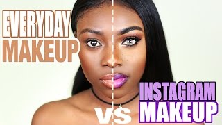 Download INSTAGRAM MAKEUP VS EVERYDAY REAL LIFE MAKEUP Video