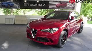 Download Alfa Romeo al Salone di Torino con Stelvio Quadrifoglio e Giulia Veloce Video