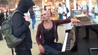 Download Tough Guy on Piano Is Asked To Play Mary Poppins Video