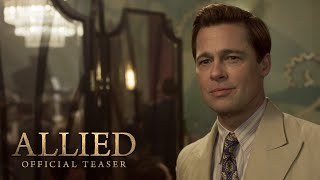 Download Allied Teaser Trailer (2016) - Paramount Pictures Video