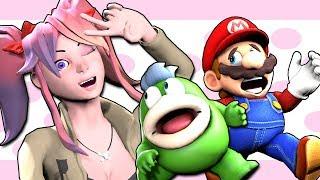 Download SMG4: Doki Doki Mario Club Video