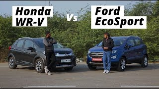 Download 2017 Ford EcoSport Vs Honda WR-V: Which Faux SUV Is Better For You? Video
