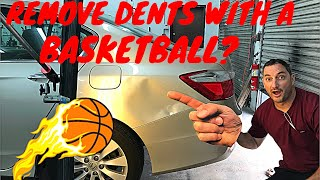 Download Huge Honda Accord Dent Removed Using A Basketball🏀? Video