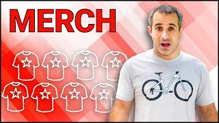 Download Merchandise | Making Money Beyond Ads ft. Seth's Bike Hacks Video