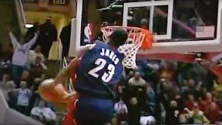 Download Lebron James Sick reverse windmill Dunk!! CHRISTMAS! Video