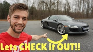 Download FULL TOUR of My NEW Audi R8! Video