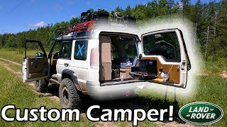 Download Land Rover Camper × My ″Home on Wheels″ Discovery 2 Video