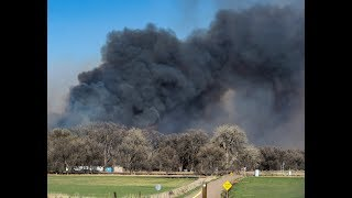 Download People in the line of the 117 fire in El Paso County Video