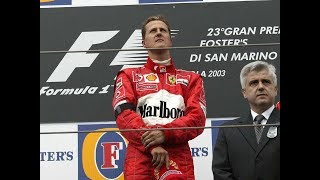 Download MOST EMOTIONAL WIN FOR MICHAEL SCHUMACHER - IMOLA 2003 Video