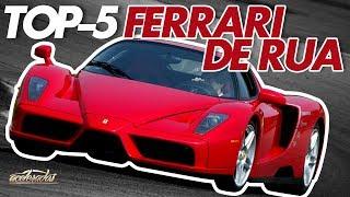Download TOP-5: MAIS FANTÁSTICAS FERRARI DE RUA! - ACELELISTA #16 Video