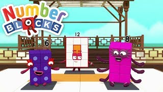 Download Numberblocks New Episode Collection - Twelve! | 4 Episodes Video