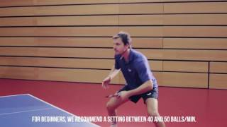 Download Tutorial with Timo Boll: Butterfly AMICUS table tennis robot Video