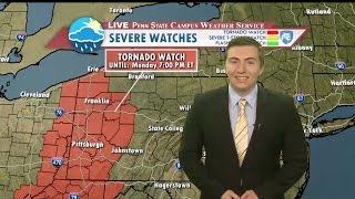 Download Monday Afternoon Severe Weather Update Video