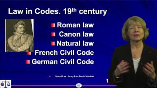 Download 1 7 Legal Traditions The civil law and the common law 15 10 Video