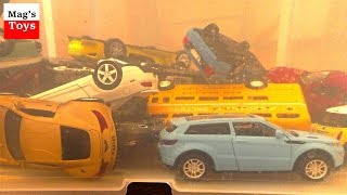Download A lot of Toy Cars jump into the water | Video for kids Video