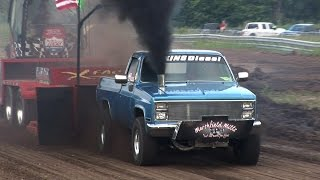 Download NHRDA Truck Pull Highlights - Tulsa Raceway Park Video