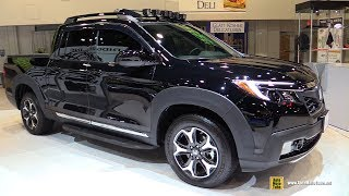 Download 2017 Honda Ridgeline with Honda Genuine Accessoires - Exterior Walkaround - SEMA 2016 Video