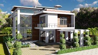 LUMION 8 Pro Render Modern House#7 Free Download Video MP4 3GP M4A
