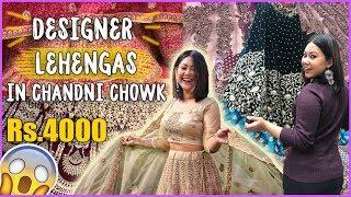 Download SHOP DESIGNER LEHENGA IN CHANDNI CHOWK |2019 BRIDAL/NON BRIDAL + MY LEHENGA |ThatQuirkyMiss Video