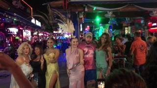Download Patong Beach Bangla Road Walking Street, Phuket Thailand, 4K RAW Footage Video