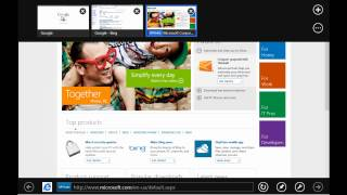 Download Internet Explorer 10 in Windows 8 (Metro) Video