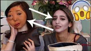 Download SISTER'S SWAP MAKEUP BAGS CHALLENGE *hilarious* | Nikki Lilly Video