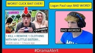 Download Logan Paul Says BAD WORD! #DramaAlert Fortnite Servers DDOS! WORST CLICK BAIT EVER! Video