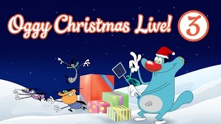 Download Oggy and the Cockroaches - Live Christmas Compilation #Part 3 Video