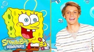 Download Jace Norman, JoJo Siwa & Alessia Cara on Favorite Characters | SpongeBob Video