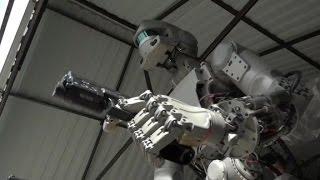 Download This Russian robot shoots guns Video